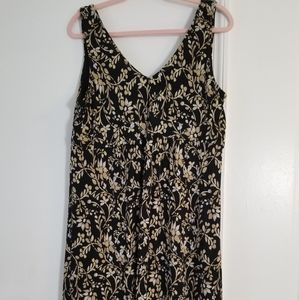Merona Sleeveless Floral Print Dress